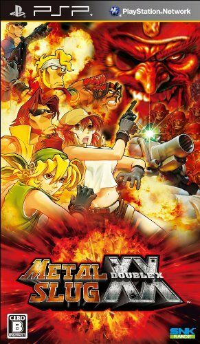 Used PSP SNK METAL SLUG DOUBLE XX SONY PLAYSTATION JAPAN IMPORT