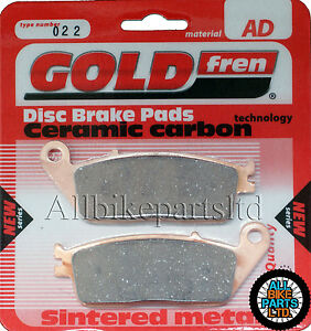 GOLDFREN FRONT BRAKE PADS 1992 Non ABS for: HONDA ST1100 PAN EUROPEAN 2x Sets