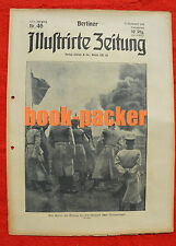 BERLINER ILLUSTRIRTE ZEITUNG 1916 Nr. 46: Tod des Hauptmanns Boelcke