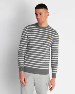 Lyle-and-Scott-Men-Breton-Stripe-Jumper-Cotton