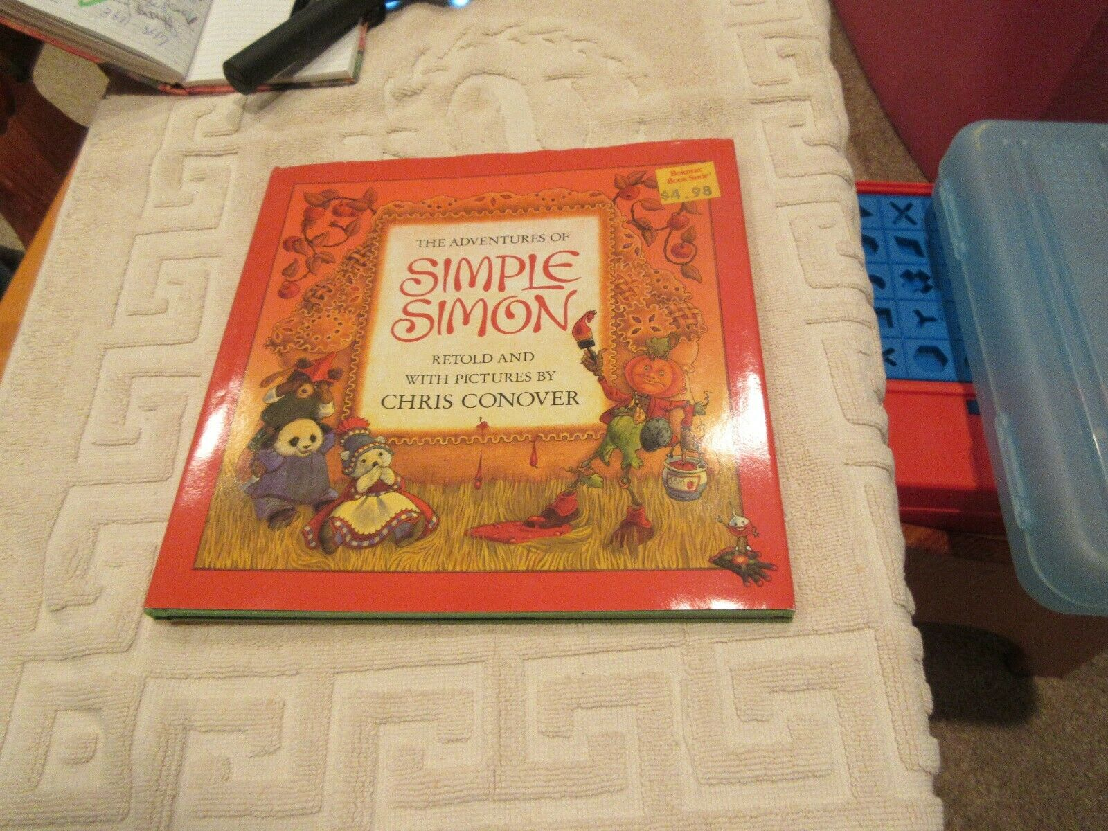 The Adventures of Simple Simon by Chris Conover (1987,