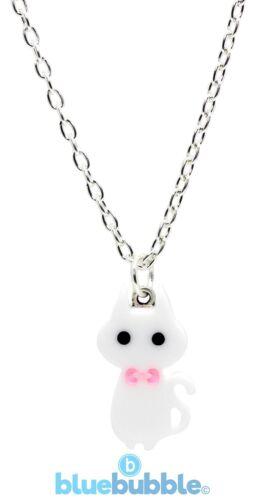 Bluebubble KITTY CAT Necklace Funky Fun Cute Kitsch Kawaii Sweet Animal Cool Pet