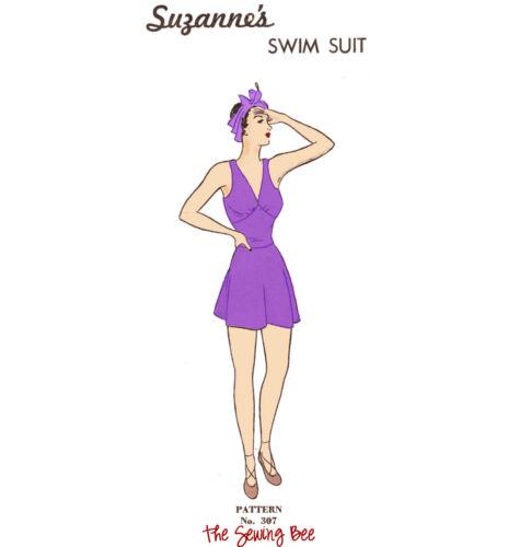 "307  Suzanne/'s Swimsuit mannequin manikin Latexature doll pattern 15/"""