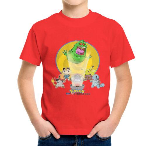 KID/'S T-shirt POKEMON GO stbusters
