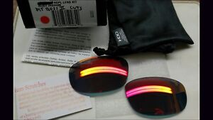 df6eed71f3 OAKLEY PIT BOSS II RUBY IRIDIUM AUTHENTIC REPLACEMENT LENSES CUSTOM ...