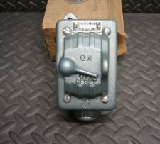 New Allen Bradley 600 Tcx4 Manual Motor Starter Switch 34 Condulet Box Ab