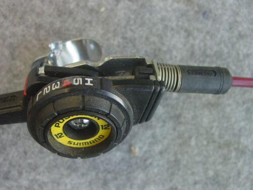 PPS Shimano Shifter and Cable 6 speed red 1650//1720 mm