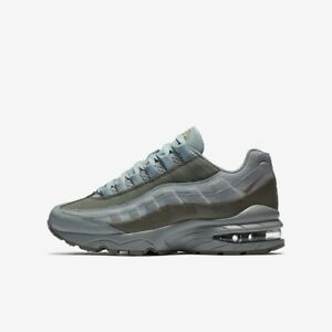 big sale 9efd6 1aa95 Details about Nike Air Max 95 Boys Girls Running Trainer Shoe Size 6 Light  Pumice