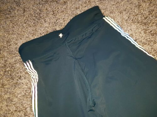 Flash Tight fit running leggings deep green size 10 NEW WITH TAGS!