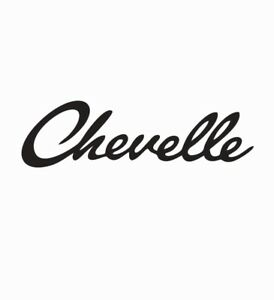 Chevelle-Chevy-Chevrolet-Vinyl-Die-Cut-Car-Decal-Sticker-FREE-SHIPPING
