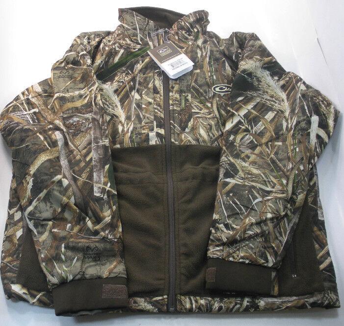 Drake Waterfowl 4330-015-1 eqwader Full Zip Chaqueta Camisa Max5 Camo Pequeño 17643