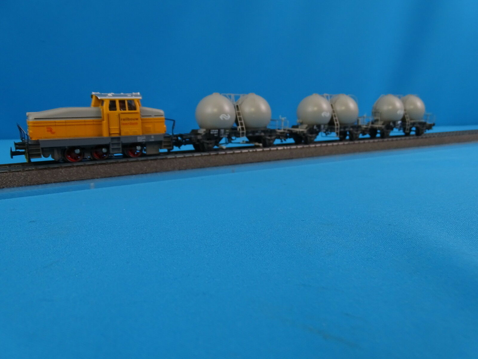 Marklin 28452 NS Cement Train Set  Railbouw Leerdam