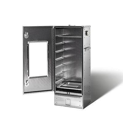 Zubehör Geprägter Cr-Edelstahl Smoki 504 Multifunktions Räucherofen Fenster u