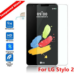 For LG Stylo 2 / Stylus 2 Plus Premium Tempered Glass Film  Screen Protector