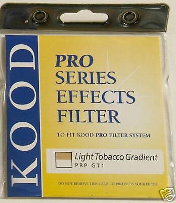 Kood P Dark tabaco Graduado filtro ajusta Series Nikon Canon Cokin Nuevo Original