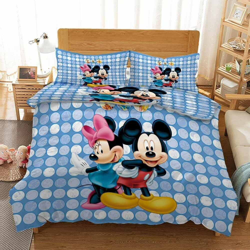 Crooked Waist Mice 3D Printing Duvet Quilt Doona Covers Pillow Case Bedding Sets