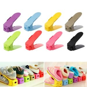 Home-Adjustable-Shoes-Base-Space-Saver-Rack-Double-Layer-Shoes-Storage-Hanger