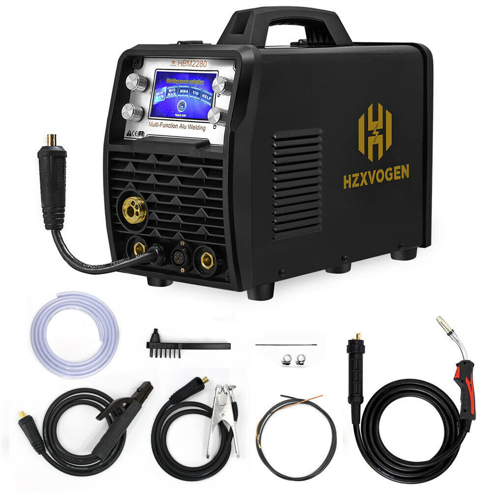 200A LED MIG TIG Stick Welder Weld Aluminum 110/220V Gas Gasless Welding Machine. Buy it now for 445.99