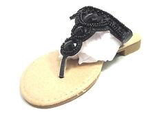 81b1134f1d18 Josmo 30525 Thong Sandal (toddler little Kid) Black US Size 2 Medium ...