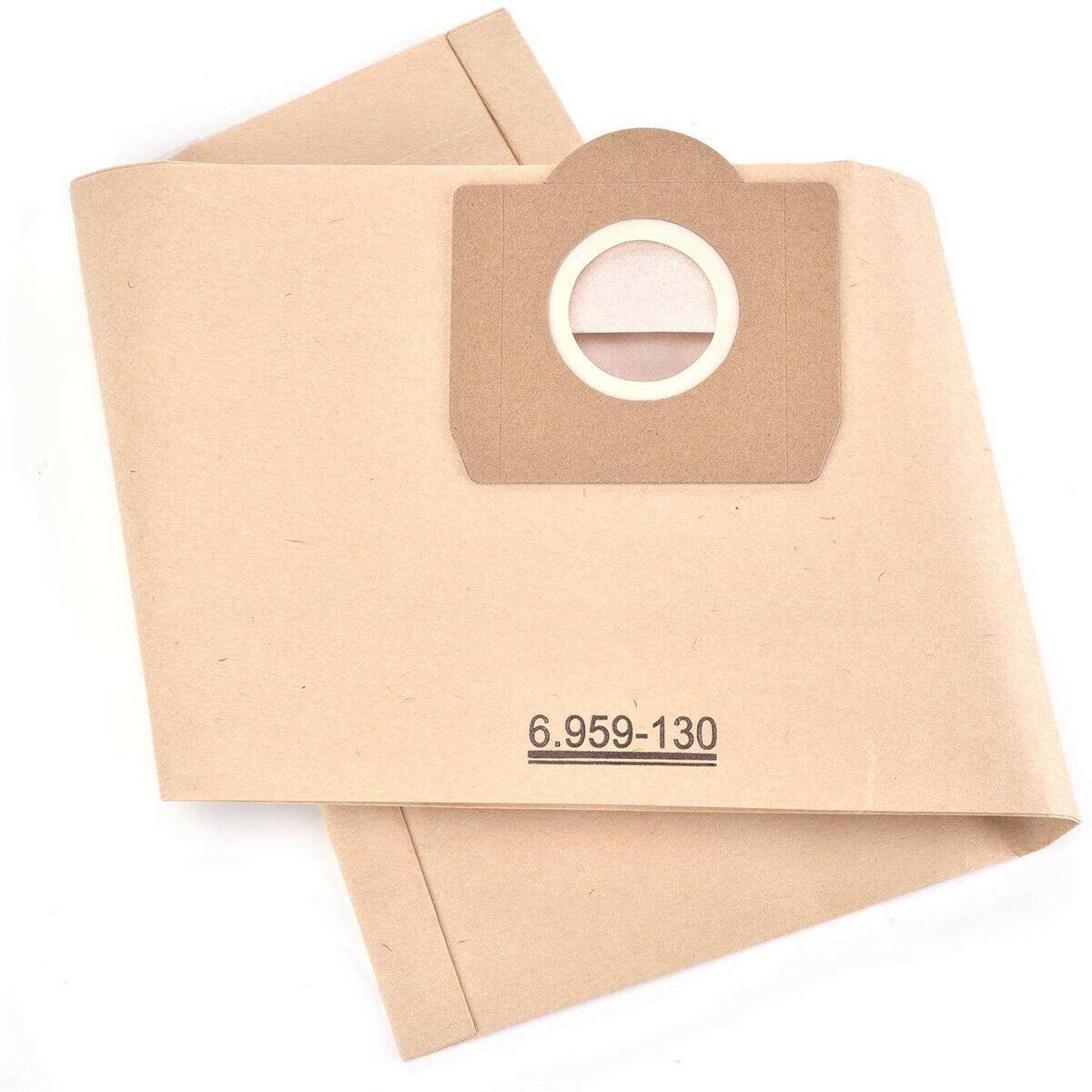Staubsaugerbeutel für Karcher 6.959-130.0 6.904-322.0 Papiertüten Filter MV4 MV3 10