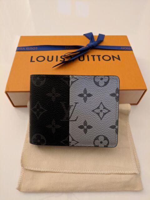 614e10dc0c9a Louis Vuitton Kim Jones Monogram Eclipse Split Multiple Wallet - M63025