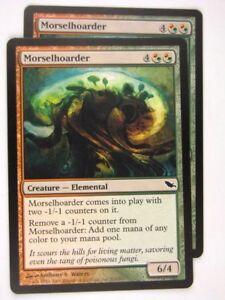 MTG-Magic-the-Gathering-Cards-MORSELHOARDER-x2-SHM