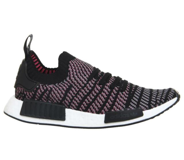 8d1538c62 adidas SNEAKERS NMD R1 STLT PK Black-grey- Fluorescent Pink CQ2386 ...