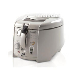 DeLonghi-F28313-W-Roto-Fry-Fritteuse-weiss-Roto-Fry-System-Easy-Clean-System
