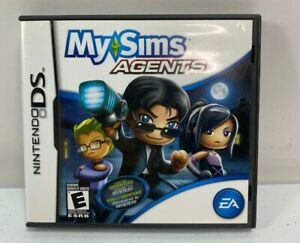 MySims Agents (Nintendo DS, 2009) Complete Tested Works