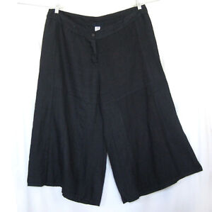 1x Linen Pants Plus Culotte 52 Crop Hip 2x Cp Lagenlook Taille 42 Shades qAwR88