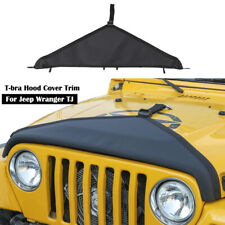 Front Hood Bra Cover T Style Protector Decoration For Jeep Wrangler Tj 1997 2006 Fits 1997 Jeep Wrangler