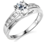 2-30-Ct-Round-Brilliant-Cut-Engagement-Wedding-Ring-Trellis-Real-14K-White-Gold thumbnail 1
