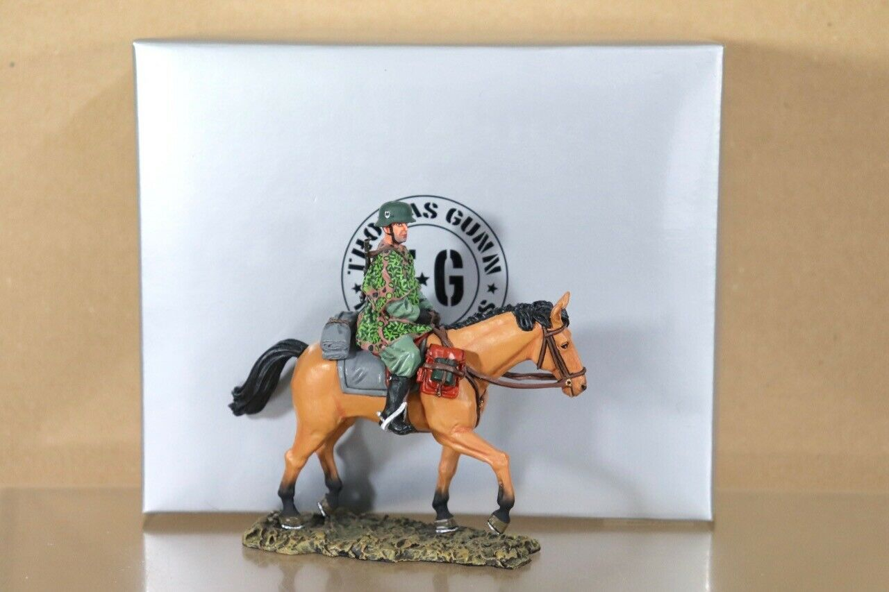 THOMAS GUNN SS011B GERMAN WWII MOUNTED CAVALRY SOLDIER BOXED nu nu