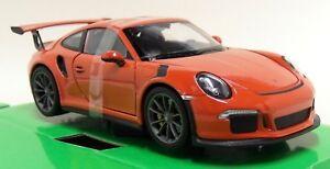 NEX-1-24-27-Scale-2016-Porsche-911-GT3-RS-Orange-Diecast-model-car