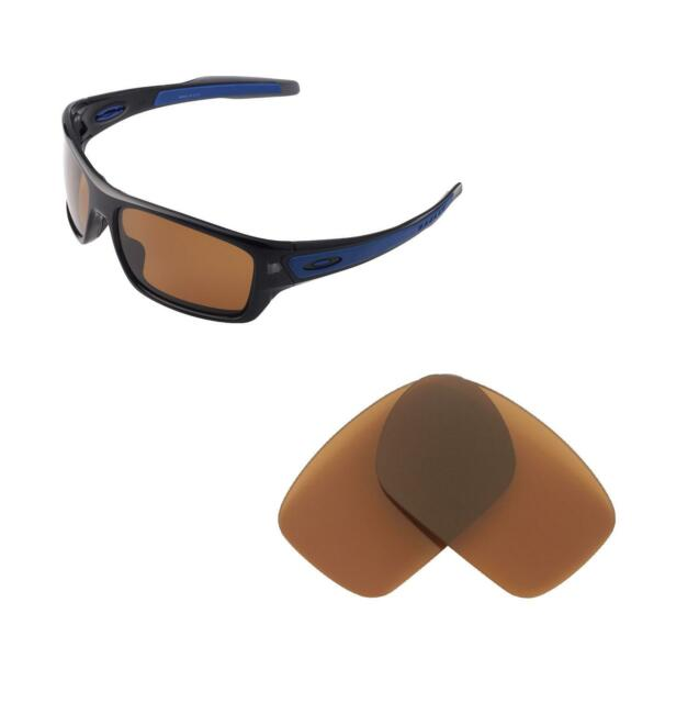 b53eed46c6 Walleva Polarized Brown Replacement Lenses For Oakley Turbine Sunglasses