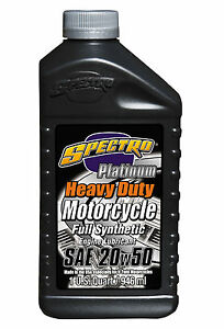 Aceite-Sintetico-Para-Harley-Davidson-20W50-Spectro-Platinum-Oil-1-Quart