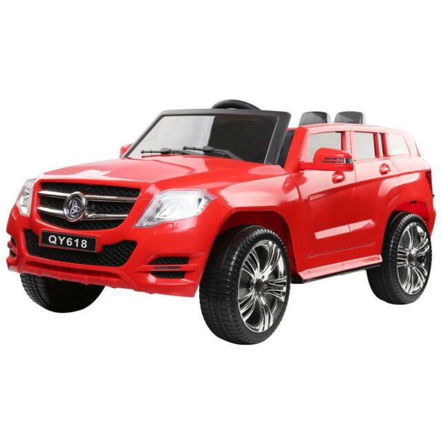 Rigo Kids start button Ride On Car - Red