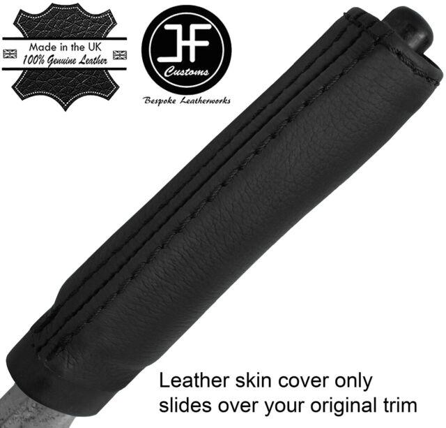 black stitch FITS NISSAN SKYLINE R34 98-02 HANDBRAKE HANDLE COVER ONLY