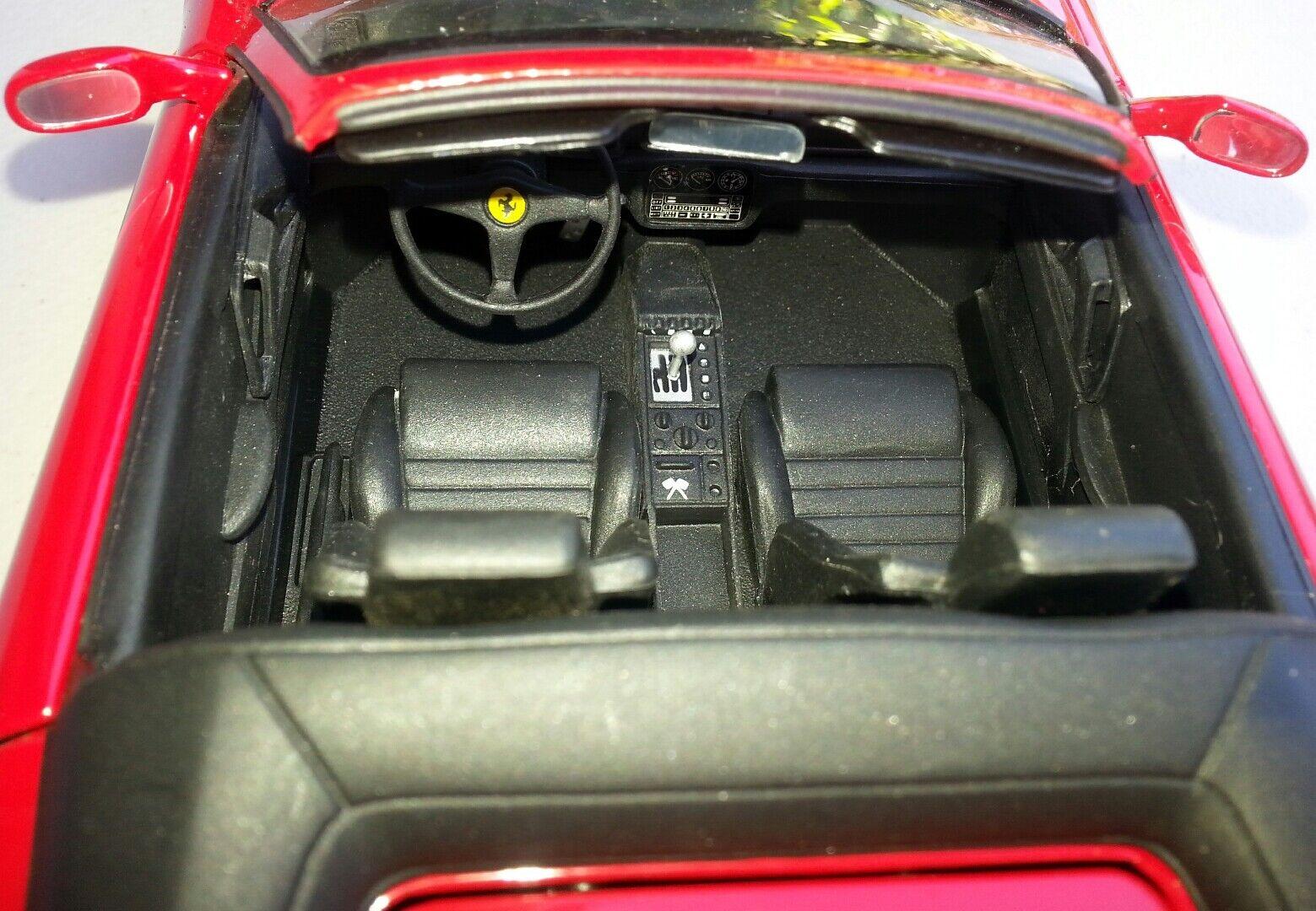 Diecast 1 18 Ferrari F 355 in in in red by UT 7cecfe