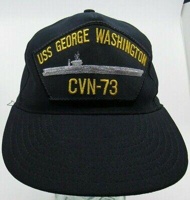 USS George Washington CVN-73 Embroidered Stars /& Stripes Baseball Cap Hat  Navy