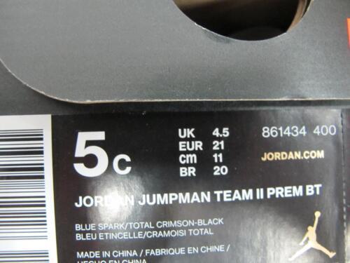 BRAND NEW TODDLERS JORDAN JUMPMAN TEAM 11 PREM 861434-400