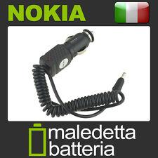 Caricabatterie Auto 12V Per Nokia 6590 6590i 6600 6610 6620 6630 6610 6651