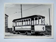 HALLE Germania TRAM tramway Straßenbahn treno vecchia foto 9