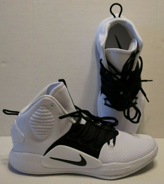Nike Hyperdunk X TB Basketball Shoes White Black AT3866-101