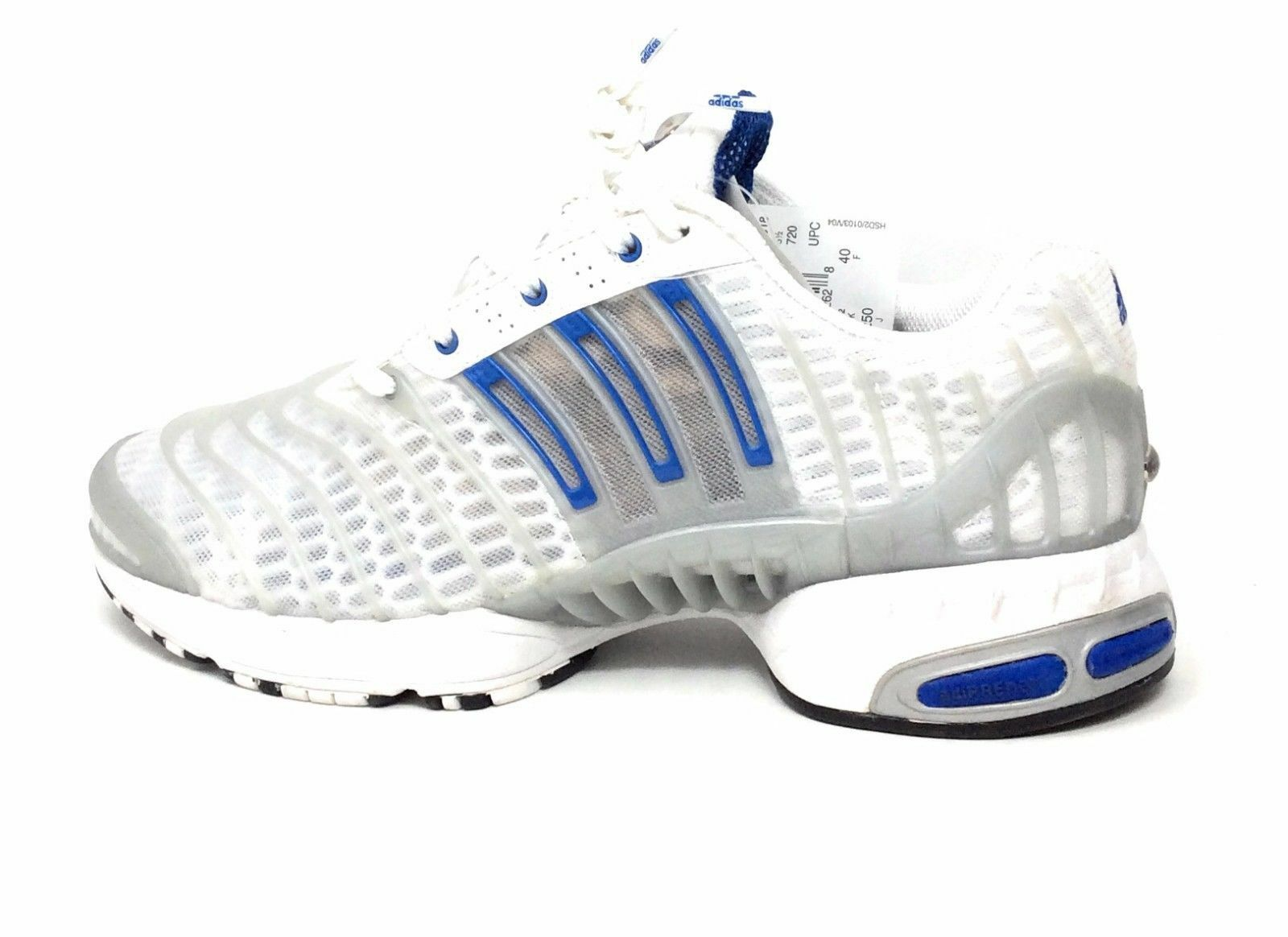 Adidas Mens Climacool Revolution Running Shoe White Size 7 US Rare Deadstock