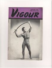 VIGOUR bodybuilding muscle magazine/Bob Laurent/Dan Lurie 8-51 (UK)