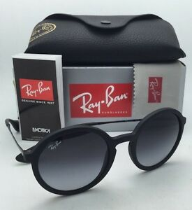 b1645cbe9c New Ray-Ban Sunglasses RB 4222 622 8G 50-21 Black Rubber Frame w ...