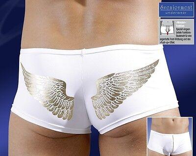 Svenj. Mikrofaser Hüft Hipster Pants Front-ZIP GAY in L