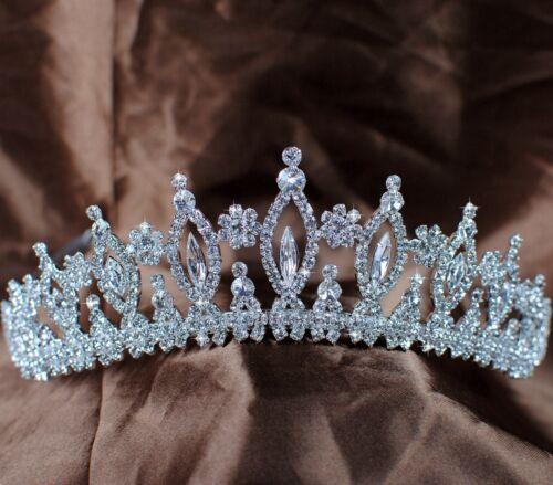 Sparkling Vintage Wedding Bridal Tiaras Rhinestones Crystal Crowns Pageant Prom