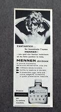 H052 - Advertising Pubblicità - 1963 - MENNEN SKIN BRACER LOZIONE DOPOBARBA